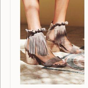 Free people Matiko fringe sandals